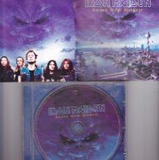 CDs de Música: IRON MAIDEN, ¨BRAVE NEW WORLD¨ , CD , 2000, EMI. Lote 106750515