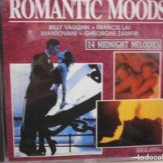 CDs de Música: CD. ROMANTIC MOODS . Lote 106756467