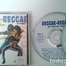 CDs de Música: REGGAE REGGAE ES MUCHO MÁS - 2CD - ARCADE 1993 - JIMMY CLIFF, EDDY GRANT, DESMOND DEKKER. Lote 106759239