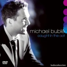 CDs de Música: MICHAEL BUBLÉ - CAUGHT IN THE ACT - CD + DVD . Lote 106770399