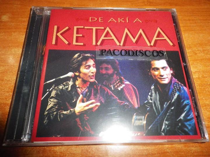 KETAMA DE AKI A KETAMA CD ALBUM PRECINTADO 1995 ANTONIO CARMONA DUOS ANTONIO VEGA Y ANTONIO FLORES (Música - CD's Flamenco, Canción española y Cuplé)