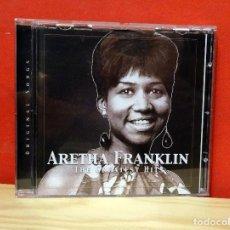 CDs de Música: ARETHA FRANKLIN CD GREATEST HITS GRANDES EXITOS. Lote 106860135