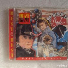 CDs de Música: JOHNNY CASH, BEST OF THE BEST. GREATEST HITS. 1995 SONY MUSIC.. Lote 106909727