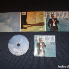CDs de Música: FRANCISCO ( LA VOZ ) - CD - DIGIPACK - 2564645393 - PRESUNTOS IMPLICADOS - PASTORA SOLER .... Lote 119267366