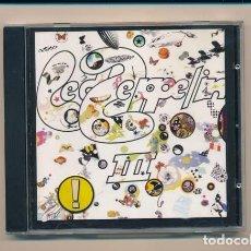 CDs de Música: CD DE LED ZEPPELIN III.. Lote 107006579