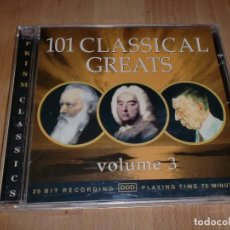 CDs de Música: 101 CLASSICAL GREATS - VOLUME 3. Lote 107013991