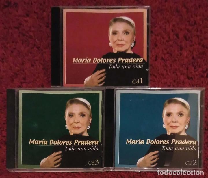 MARIA DOLORES PRADERA (TODA UNA VIDA - VOL. 1, 2 Y 3) 3 CD'S 2002 (Música - CD's Melódica )