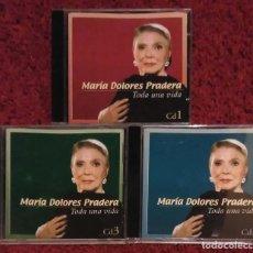 CDs de Música: MARIA DOLORES PRADERA (TODA UNA VIDA - VOL. 1, 2 Y 3) 3 CD'S 2002. Lote 107044067
