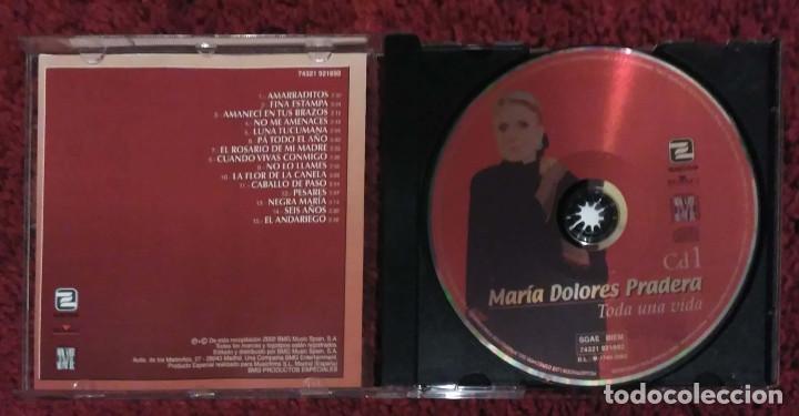 CDs de Música: MARIA DOLORES PRADERA (TODA UNA VIDA - VOL. 1, 2 Y 3) 3 CDs 2002 - Foto 3 - 107044067