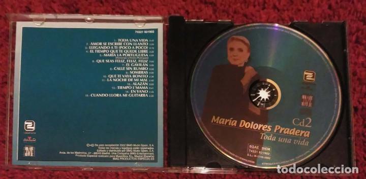 CDs de Música: MARIA DOLORES PRADERA (TODA UNA VIDA - VOL. 1, 2 Y 3) 3 CD's 2002 - Foto 4 - 107044067