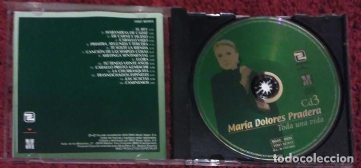 CDs de Música: MARIA DOLORES PRADERA (TODA UNA VIDA - VOL. 1, 2 Y 3) 3 CD's 2002 - Foto 5 - 107044067