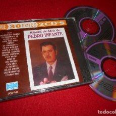 CDs de Música: PEDRO INFANTE ALBUM DE ORO 2CD EDICION AMERICANA USA. Lote 107083983