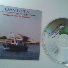 CDs de Música: MARGARITA ROSA DE FRANCISCO / GAVIOTA (TEMA DE LA TELENOVELA CAFE CON AROMA DE MUJER) CD SINGLE. Lote 107087071