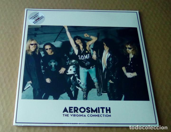 AEROSMITH - THE VIRGINIA CONNECTION (2LP 2015, LIMITED ED. BACK ON BLACK RCV174LP) PRECINTADO (Música - CD's Heavy Metal)