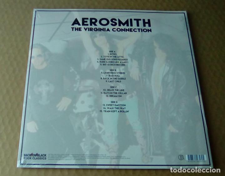 CDs de Música: AEROSMITH - The Virginia Connection (2LP 2015, Limited Ed. Back On Black RCV174LP) PRECINTADO - Foto 2 - 107095963