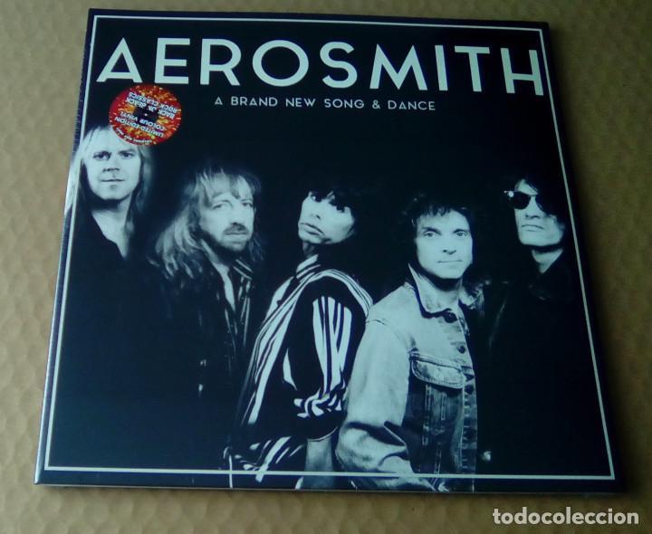AEROSMITH - A BRAND NEW SONG & DANCE (2LP 2015, LIMITED ED. BACK ON BLACK RCV183LP) PRECINTADO (Música - CD's Heavy Metal)