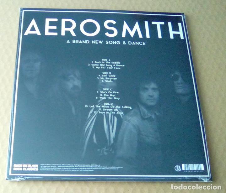 CDs de Música: AEROSMITH - A Brand New Song & Dance (2LP 2015, Limited Ed. Back On Black RCV183LP) PRECINTADO - Foto 2 - 107096003