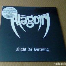 CDs de Música: ARAGORN - NIGHT IS BURNING (LP 2017, SOMMOR SOMM036) PRECINTADO. Lote 107121475