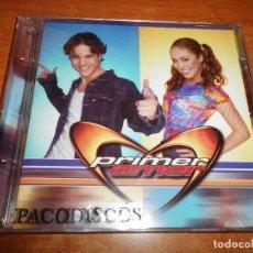 CDs de Música: PRIMER AMOR BANDA SONORA TELENOLEVA CD ALBUM HECHO EN MEXICO REMIXES ANAHI LYNDA REBELDE RBD. Lote 107206119