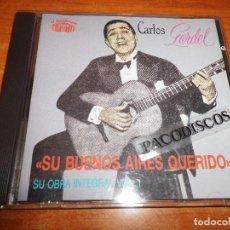 CDs de Música: CARLOS GARDEL SU BUENOS AIRES QUERIDO VOL 1 - CD ALBUM 1990 EU CONTIENE 20 TEMAS MUY RARO. Lote 152470329
