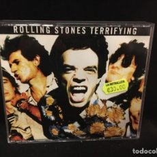CDs de Música: ROLLING STONES - TERRIFYING - 2 CD LIVE 1989. Lote 107224216