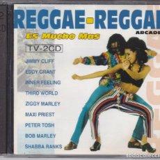 CDs de Música: REGGAE REGGAE,VARIOS EDICION ESPAÑOLA DEL 93 DOBLE CD. Lote 107224911