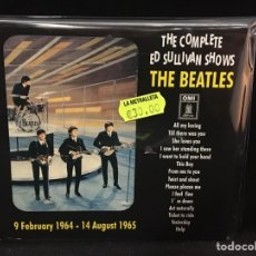 CDs de Música: THE BEATLES - THE COMPLETE ED SULLIVAN SHOWS - CD. Lote 107226690