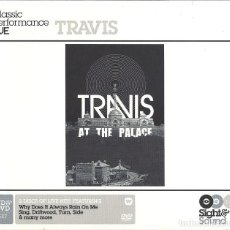 CDs de Música: TRAVIS LIVE AT THE PALACE (CD + DVD DIRECTO). Lote 107227111