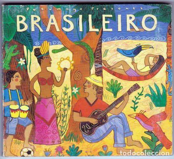 VVAA - BRASILEIRO, DIGIPAK. PUTUMAYO PRESENTS. (Música - CD's World Music)