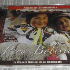 CDs de Música: CD PAISES DE LATINOAMERICA LA RIQUEZA MUSICAL DE UN CONTINENTE PERU - BOLIVIA. Lote 211833860