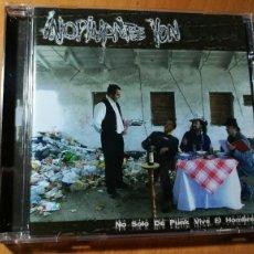 CDs de Música: CD INOPINANTE YON 'NO SOLO DE PUNK VIVE EL HOMBRE'. Lote 109507635