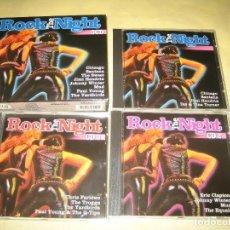 CDs de Música: CAJA CON TRES CDS ROCK THE NIGHT . Lote 107287135