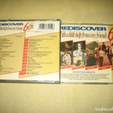 CDs de Música: REDISCOVER - DOBLE CD . Lote 107287627
