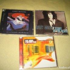 CDs de Música: GARY MOORE - LOTE DE TRES CDS - UNO ES DOBLE CD . Lote 107287935