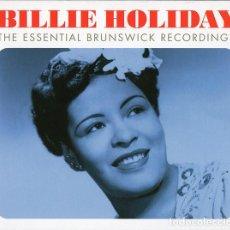 CDs de Música: BILLIE HOLIDAY * 3CD * THE ESSENTIAL BRUNSWICK RECORDINGS * LTD DIGIPACK * PRECINTADO!!. Lote 107325199