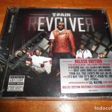 CDs de Música: T-PAIN REVOLVER CD ALBUM PRECINTADO DELUXE EDITION DEL AÑO 2011 PITBULL NE-YO R. KELLY WIZ KHALIFA. Lote 107449307