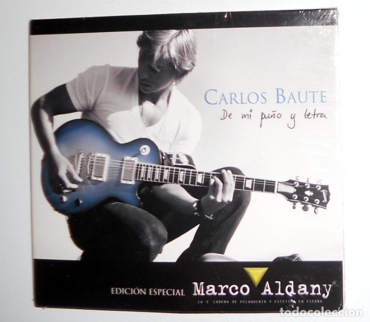 CD EDICIÓN ESPECIAL - CARLOS BAUTE DE MI PUÑO Y LETRA MARCO ALDANY - BENEFICO - COLECCIONISTAS RARO (Música - CD's Latina)