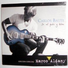 CDs de Musique: CD EDICIÓN ESPECIAL - CARLOS BAUTE DE MI PUÑO Y LETRA MARCO ALDANY - BENEFICO - COLECCIONISTAS RARO. Lote 107461771