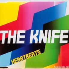 CDs de Música: THE KNIFE / HEARTBEATS. Lote 107468091