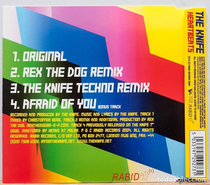 CDs de Música: The Knife / Heartbeats - Foto 2 - 107468091