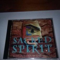 CDs de Música: SACRED SPIRIT. CHANTS AND DANCES OF THE NATIVE AMERICANS. B8CD. Lote 110139023