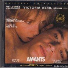 CDs de Música: AMANTES + INTRUSO / JOSÉ NIETO CD BSO. Lote 107486059