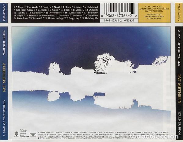CDs de Música: A MAP OF THE WORLD / Pat Metheny CD BSO - Foto 2 - 107491591