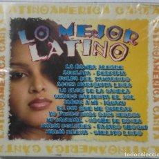 CDs de Música: LO MEJOR LATINO - CANTA LATINOAMERICA - NUEVO - PRECINTADO 2 CDS. Lote 107498887