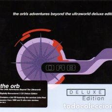 CDs de Música: THE ORB - THE ORB'S ADVENTURES BEYOND THE ULTRAWORLD - 3XCD DELUXE EDITION - DIGIPACK. Lote 107513523