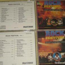 CDs de Música: ROCK FESTIVAL - DOS CDS . Lote 107535219