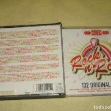 CDs de Música: ROCK ´N´ROLL - 132 ORIGINAL HITS - 6 CDS EMI . Lote 107535335