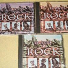 CDs de Música: LEGENDS OF ROCK - TRES CDS . Lote 107535467