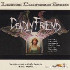 CDs de Música: DEADLY FRIEND / CHARLES BERNSTEIN CD BSO. Lote 107537411