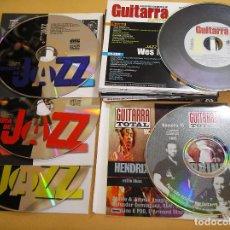CDs de Música - Guitarra Actual + Jazz lote de 16 cd + regalo. sin revista, rock, pop pruebas uso aprende cds ercom - 107600867